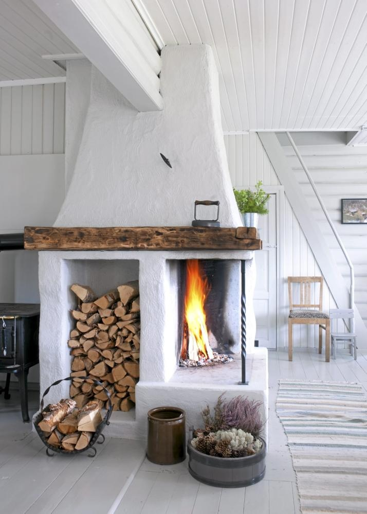 Brennholzregal wohnzimmer  25 Cool Firewood Storage Designs For Modern Homes