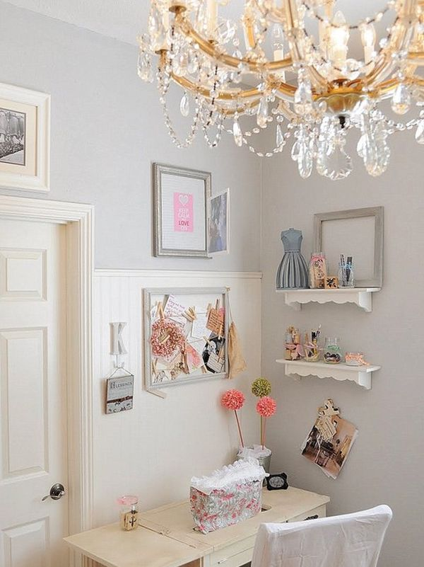 Feminine shabby chic nook ideas for your home - Home decor ideas for small homes ...