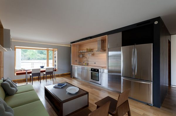 view in gallery single wall - Single Wall Home Design