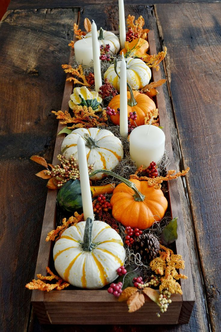 30 festive fall table decor ideas for Foyer exterieur costco