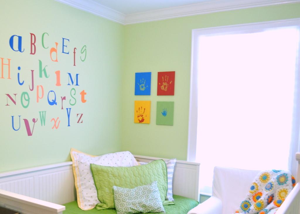Playroom Color Scheme Fun
