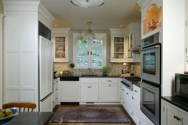 Most Por Kitchen Layout and Floor Plan Ideas L Shape Kitchen Layout Ideas Dishwasher Next To Fridge on