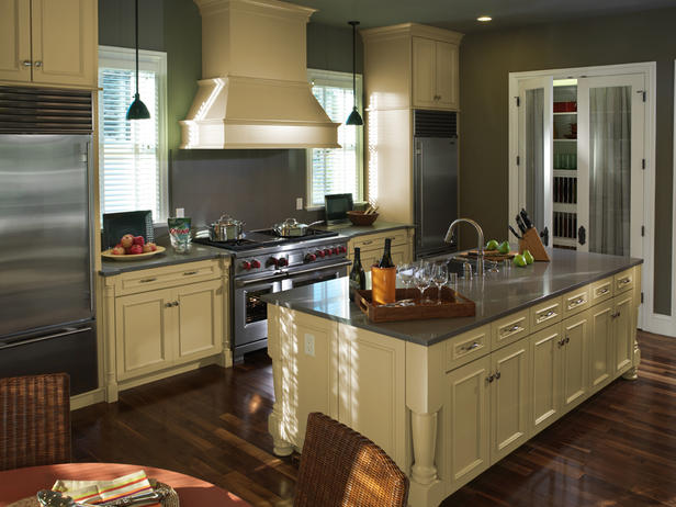 Most popular kitchen layout and floor plan ideas for Kitchen design triangle