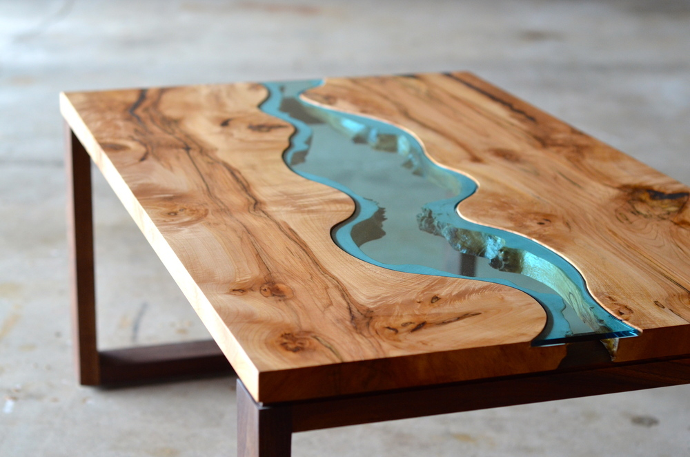 Unique coffee tables of unrivaled beauty and singular for Material design table