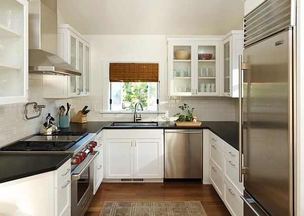 Most popular kitchen layout and floor plan ideas for Tiny u shaped kitchen ideas