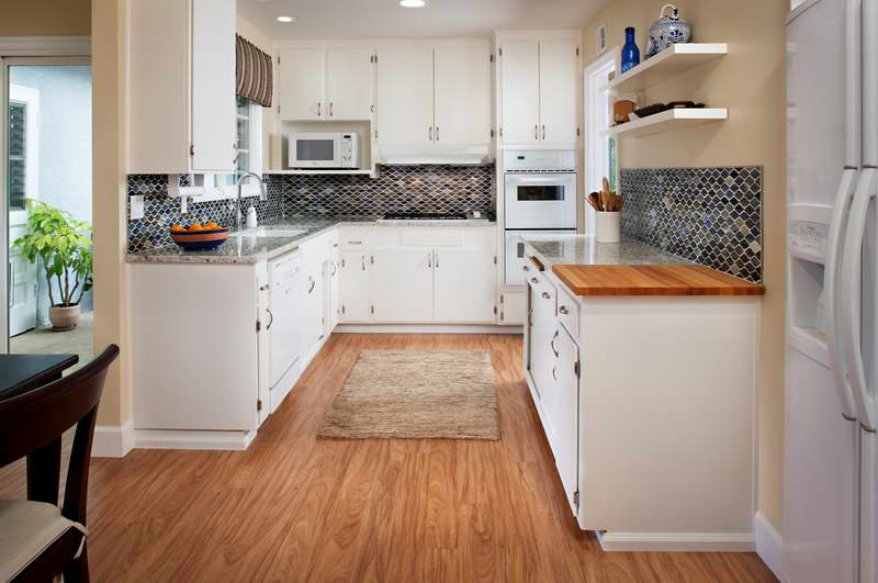 u shaped kitchen layouts. u-shaped kitchen. u shaped kitchen layouts : u-shaped-kitchen-small-space - designwebi.com