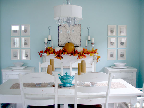 30 Ways To Create A Trendy Industrial Dining Room: 30 Festive Fall Table Decor Ideas