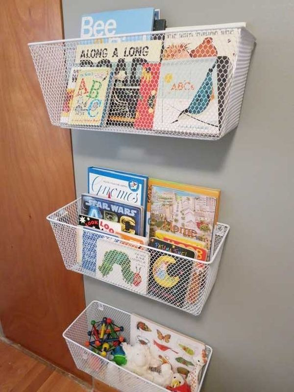 Cozy Creative Ways To Display Books In The Nursery