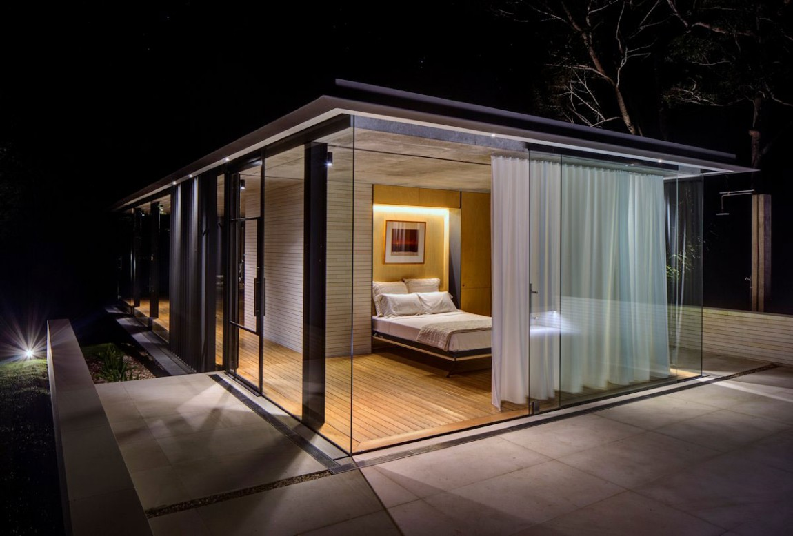 Glass Pavilion Takes The Place Of An Orchard But Keeps Its Memory Alive