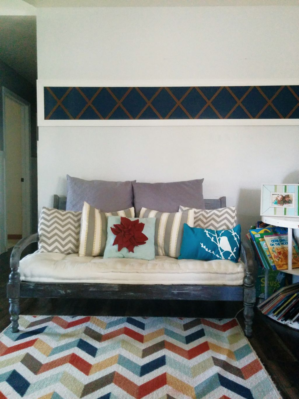 A New Way To Add Detailing To A Wall, Wood Trim With X\'s