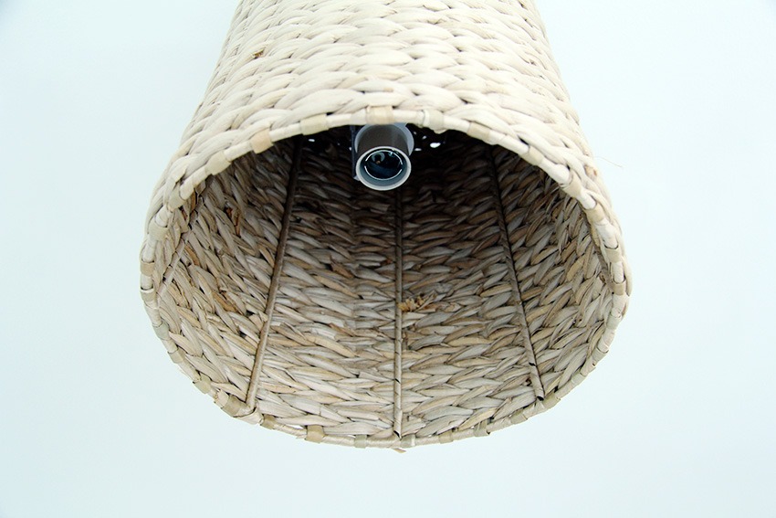 Basket Lampshade reattach fittings