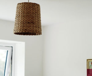 How To make A Lampshade – DIY Woven Basket Lighting Fixtures