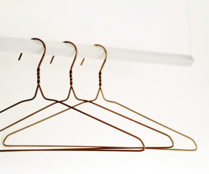 Painting The Traditional Wire Clothes Hangers