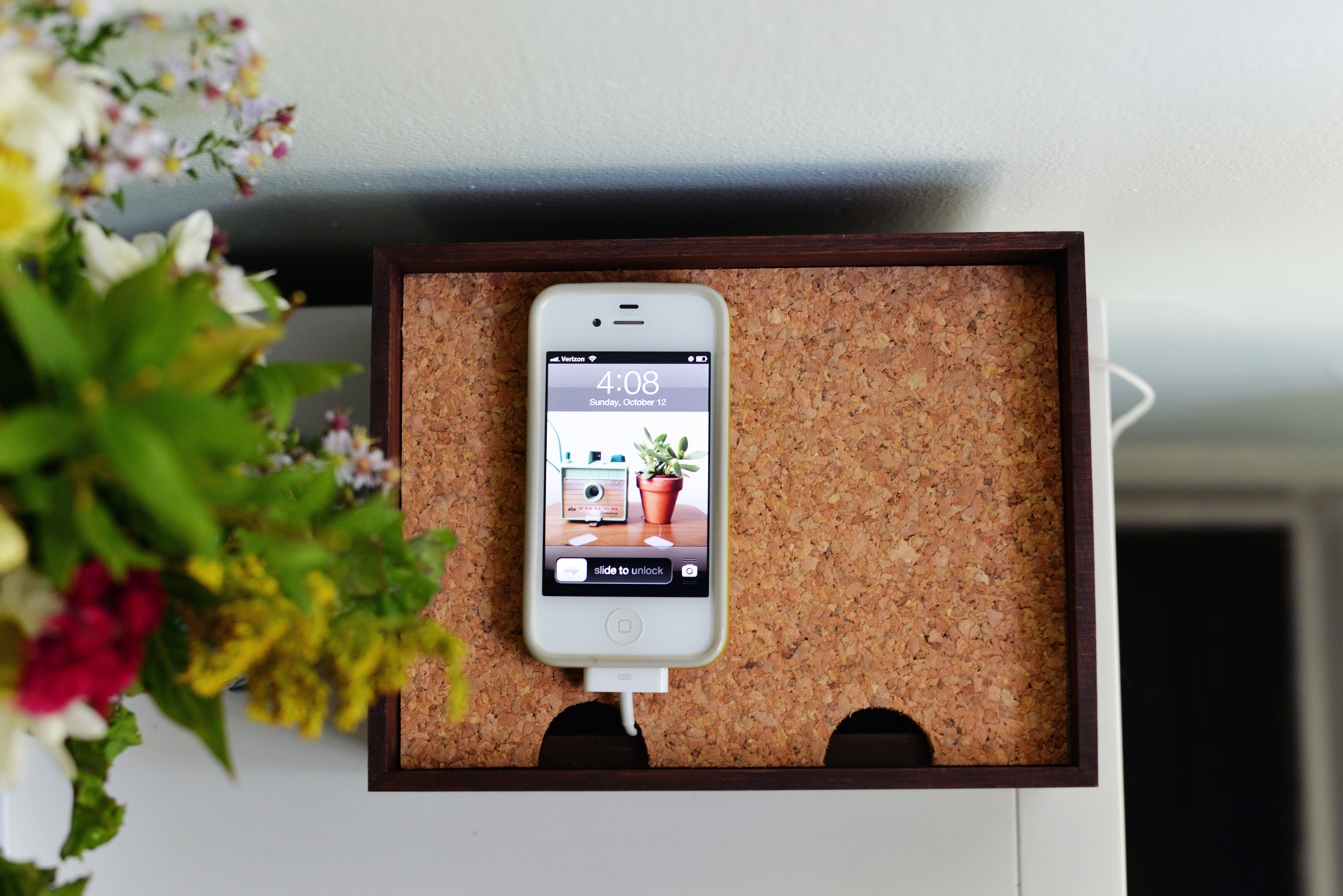 DIY charging station box