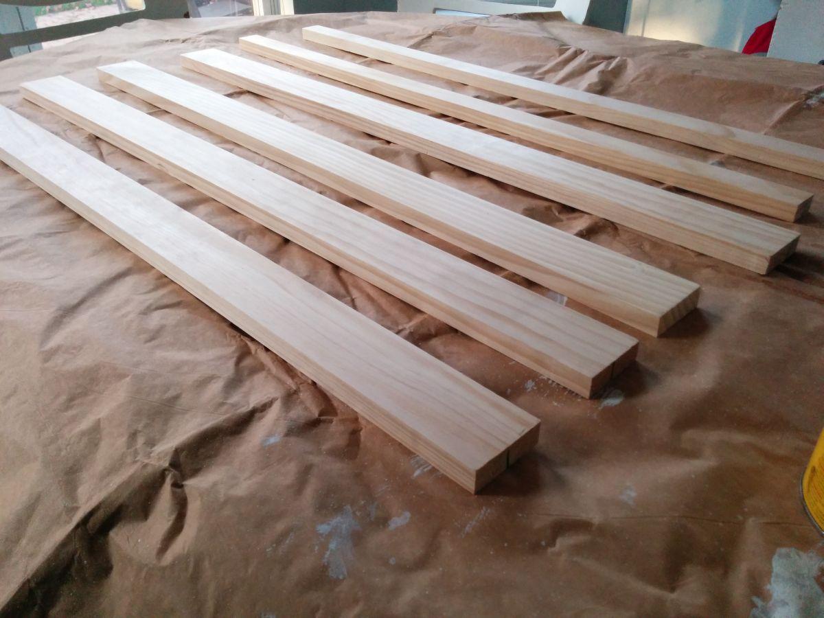 Prepare the wood boards
