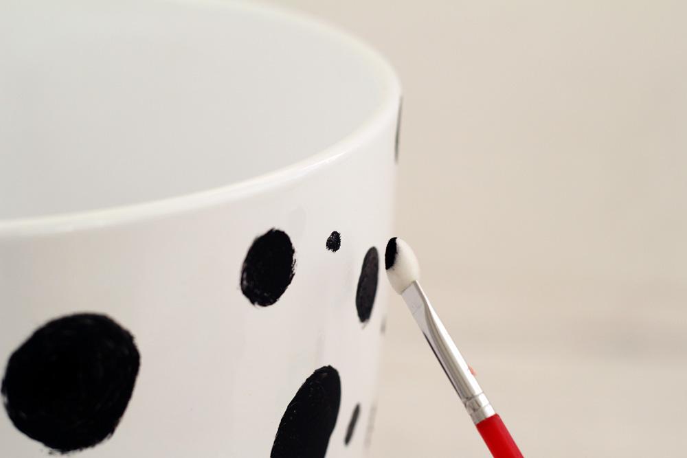Dalmatian Spotted Planter