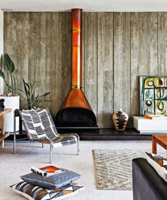 Go with a Vintage Style Malm Fireplace