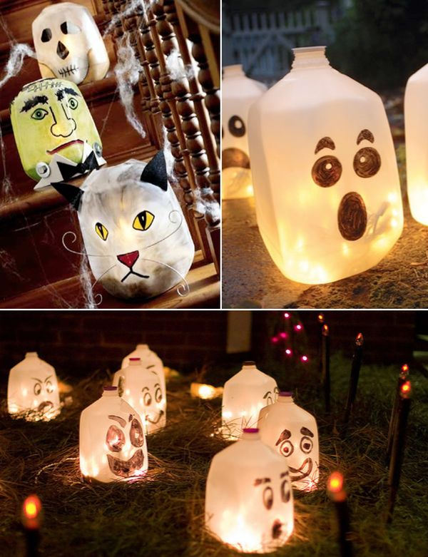 Planning a homemade halloween full of spooky decorations - Deco halloween exterieur ...