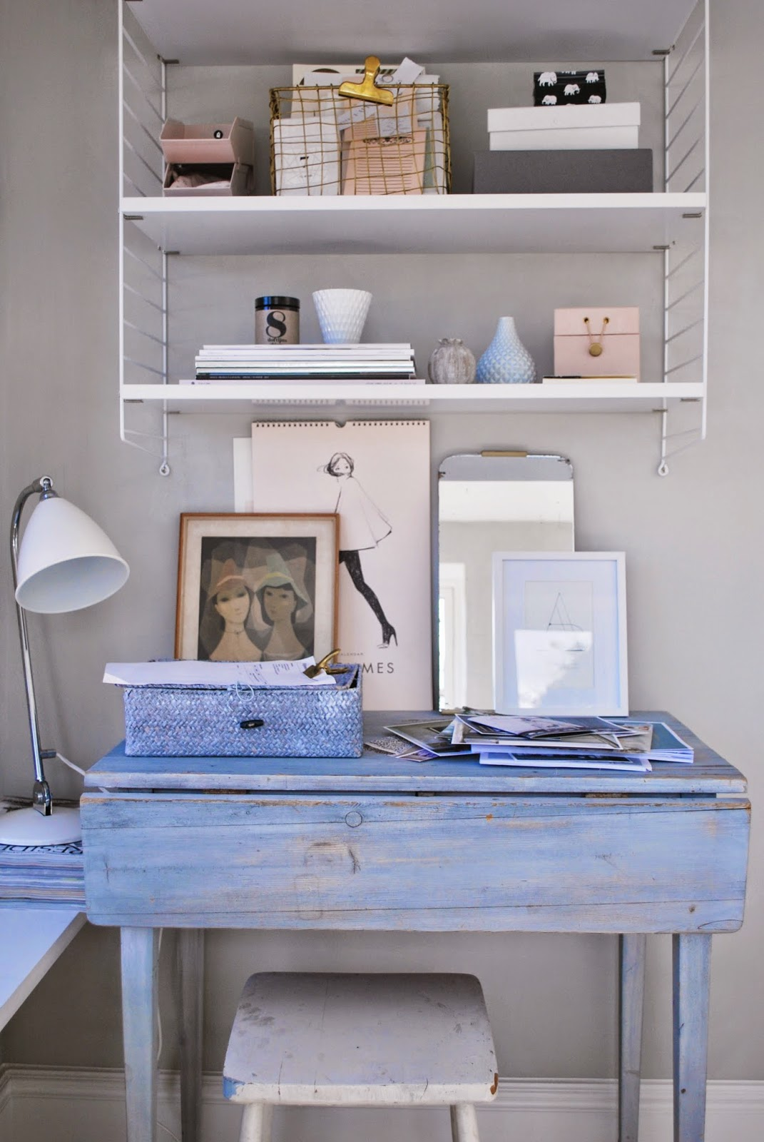 vintage shabby chic inspired office office space 52 ways incorporate shabby chic style into every room in your home