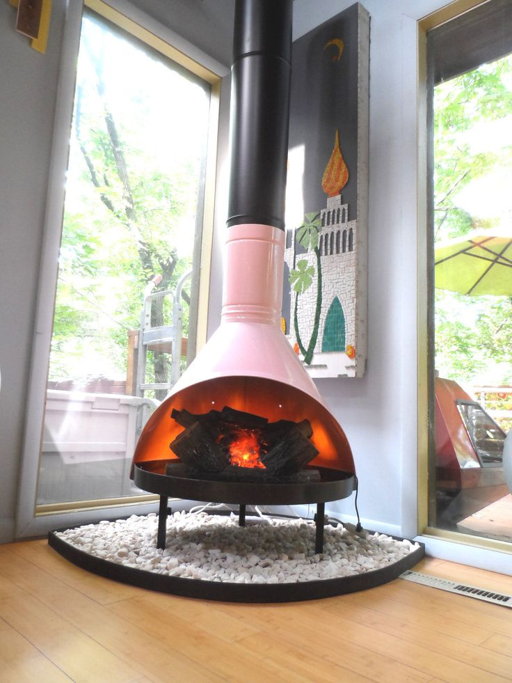 Place Your Malm Fireplace on Rocks