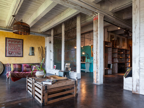 Old Factory Transformed Into A Hospitable House With Lots Of Diy Ingenuity