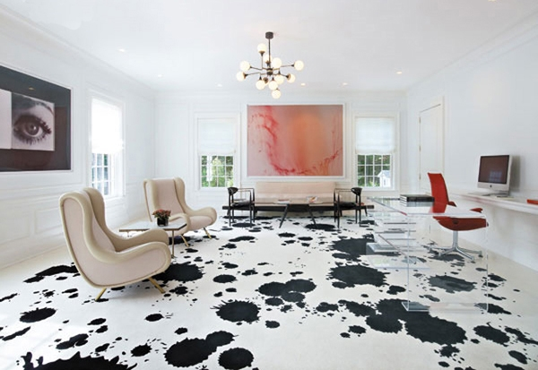 view in gallery splatter painted floors - Paint The Floor