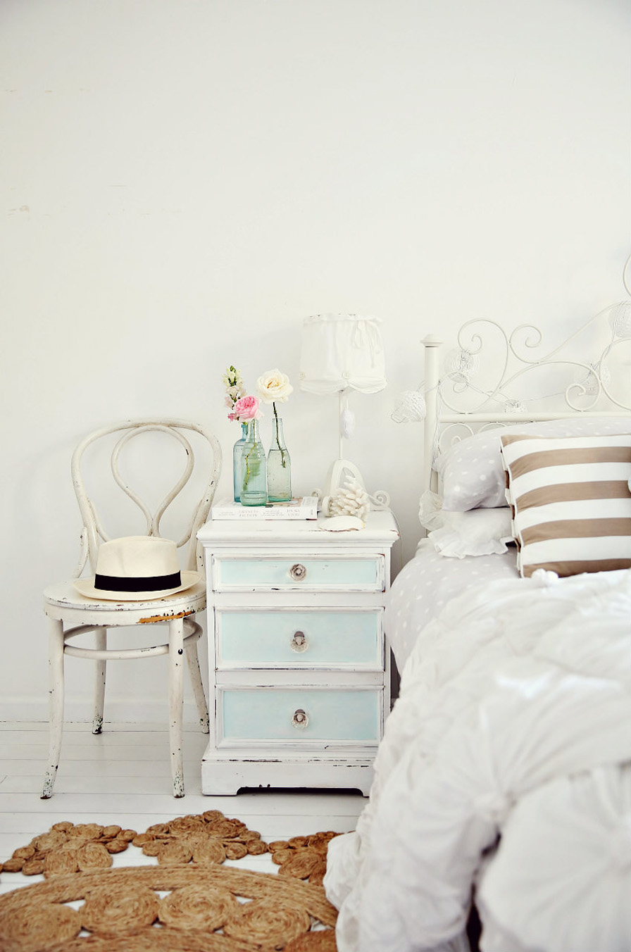 Antique Dresser As Night Stand