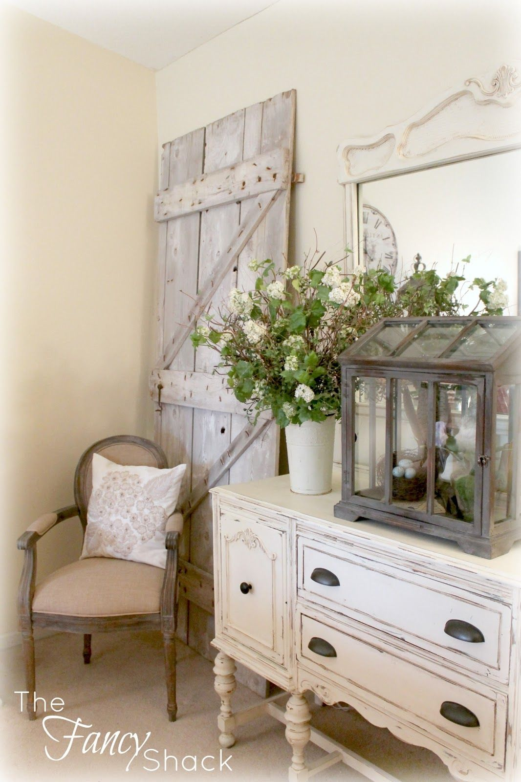 52 ways incorporate shabby chic style into every room in. Black Bedroom Furniture Sets. Home Design Ideas
