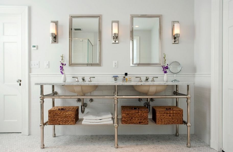 Bathroom Sconces Placement rise and shine! bathroom vanity lighting tips