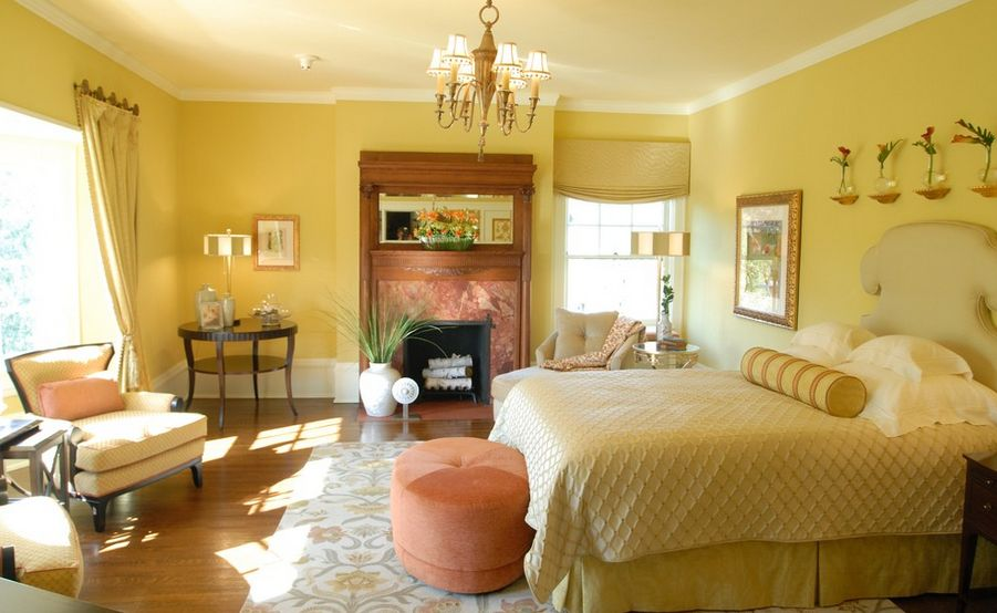 You Can Use Yellow To Give Your Bedroom A Cheery Vibe