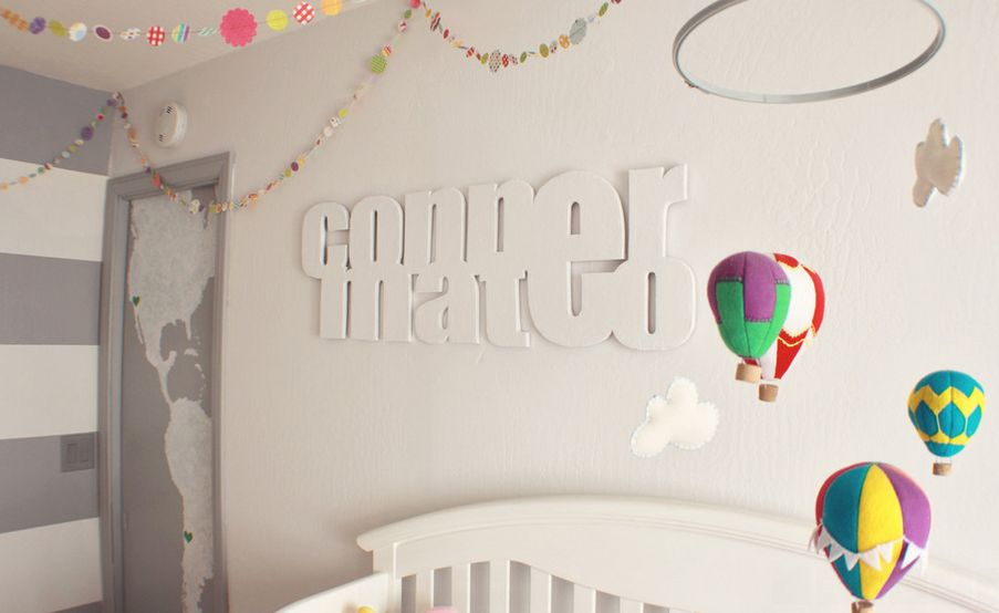 Hot Air Balloon Inspired Decorations That Will Take You To