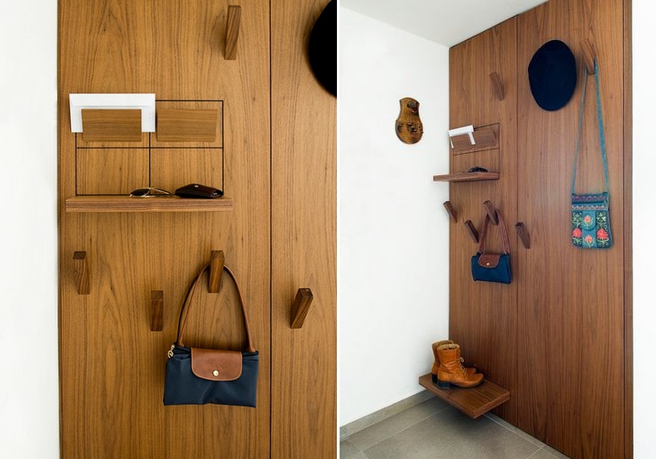 Modern Foyer Storage : Best ideas for entryway storage