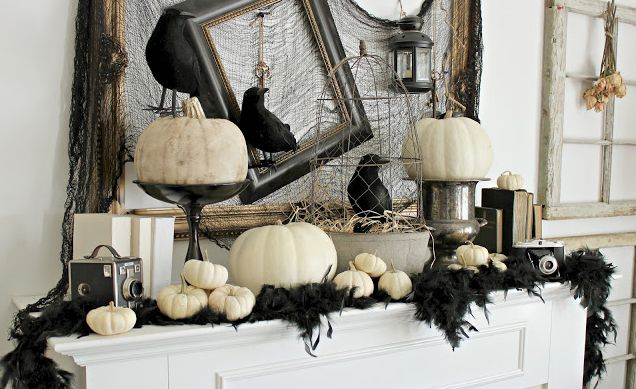 20 super scary halloween decorations. Black Bedroom Furniture Sets. Home Design Ideas