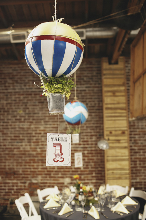 Hot air balloon inspired decorations that will take you
