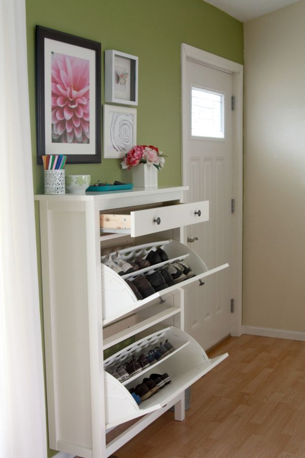 Foyer Shoe Storage Furniture : Shoe storage cabinets that are both functional stylish