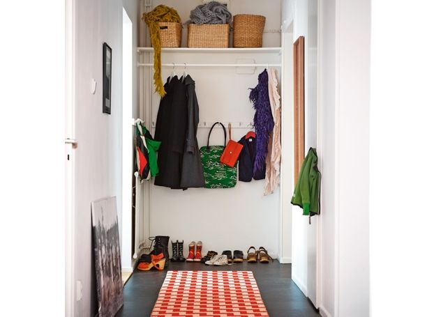 Best ideas for entryway storage for End of hallway ideas