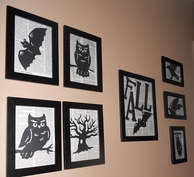 20 booo tiful halloween silhouettes - Wall art decor ideas ...