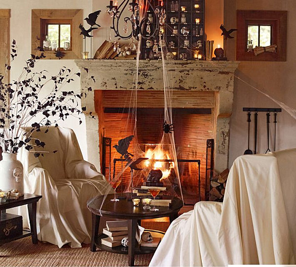 view in gallery - Spooky Halloween Decor