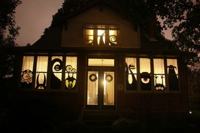 home decorating trends homedit - Halloween Decorated House