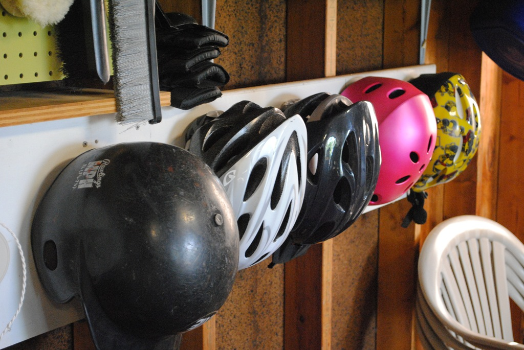 Helmet Hang Up