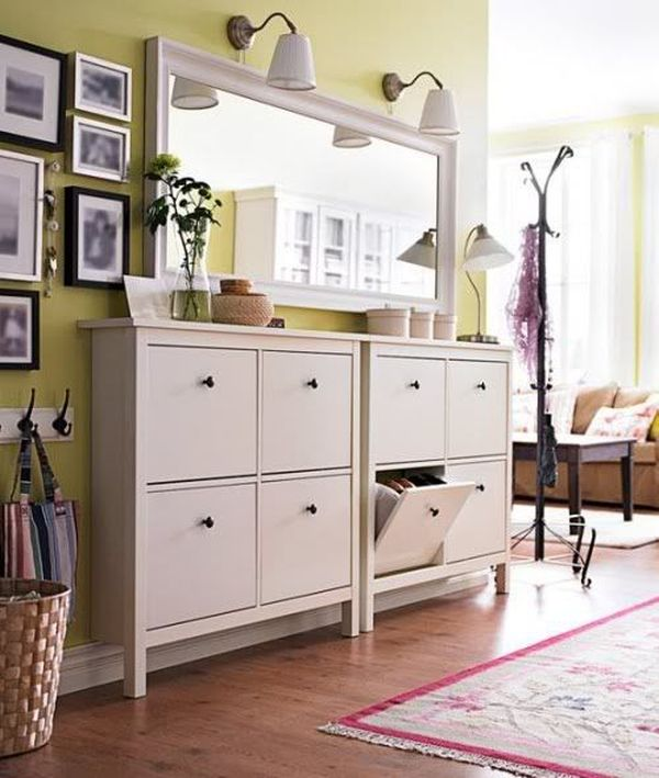 20 shoe storage cabinets that are both functional stylish. Black Bedroom Furniture Sets. Home Design Ideas