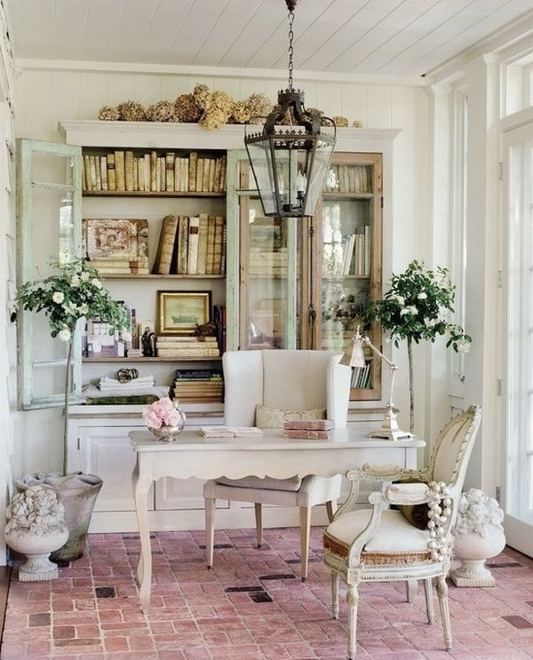 52 Ways Incorporate Shabby Chic Style into Every Room in Your Home Chic Home Office Design Ideas on chic office style, chic office attire, shabby chic home ideas, chic interview outfits for women, office color ideas, tommy bahama office ideas, office decorating ideas,