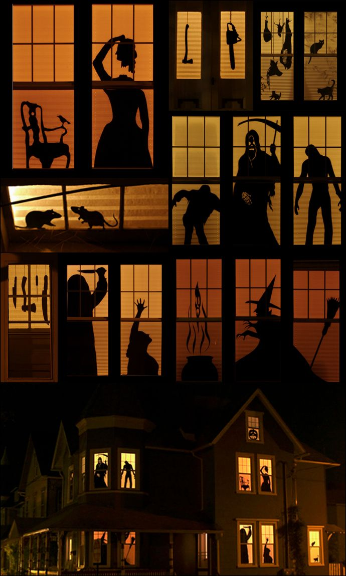 haunt your house 18 ideas to create the spookiest place on the block - Halloween House Pictures
