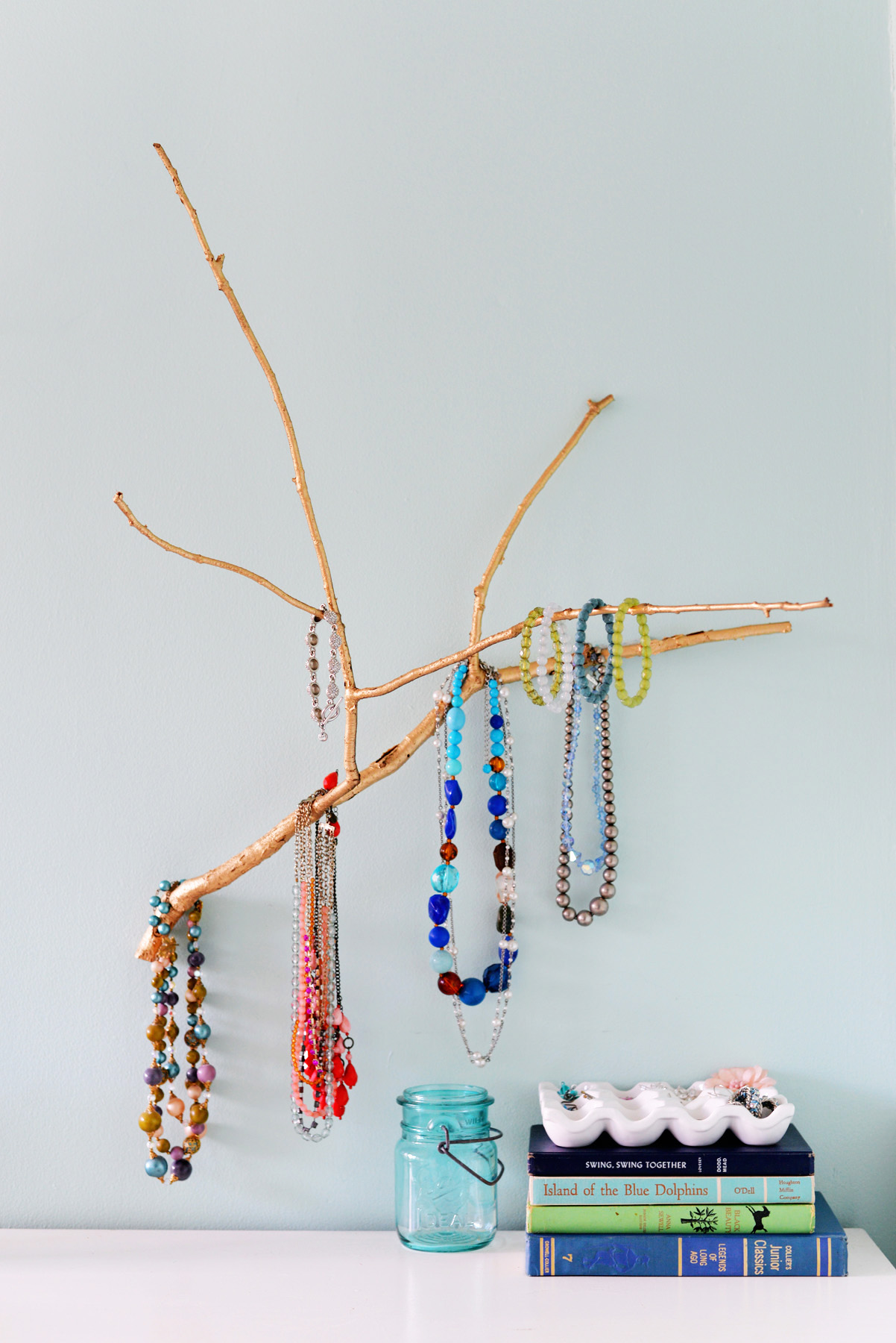 Diy bracelet holder pinterest