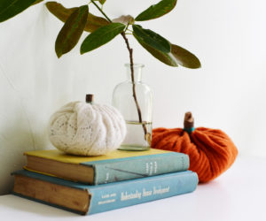DIY Sweater Pumpkins