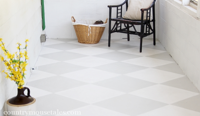 Floor painting a guide to the whats and hows of painting for Painted concrete floor ideas
