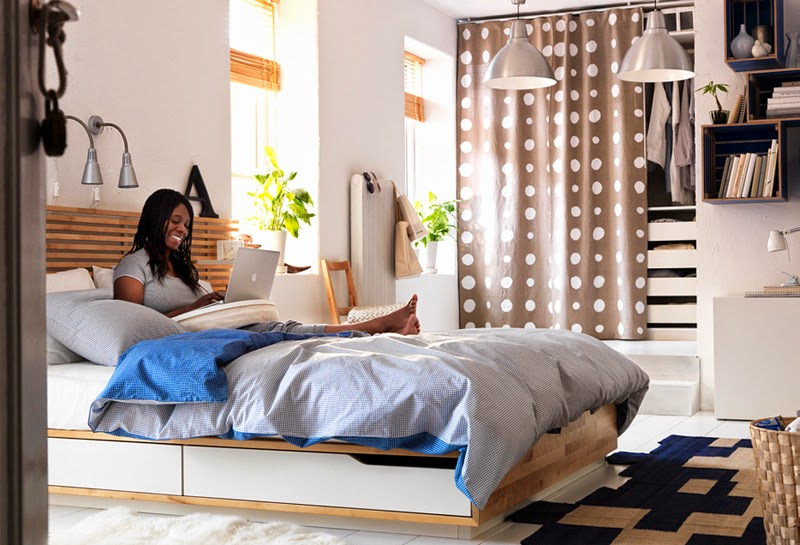 Attractive 45 Ikea Bedrooms That Turn This Into Your Favorite Room Of The House