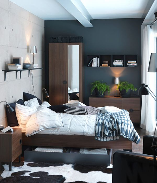 Wonderful 45 Ikea Bedrooms That Turn This Into Your Favorite Room Of The House