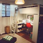 Mixing Work With Pleasure – Loft Beds With Desks Underneath
