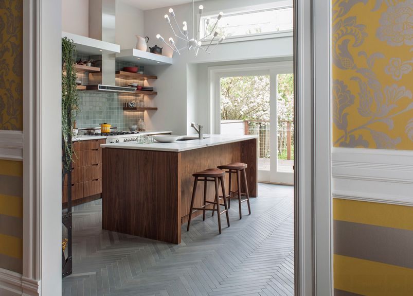 Delightful Timeless Herringbone Pattern In Home Décor